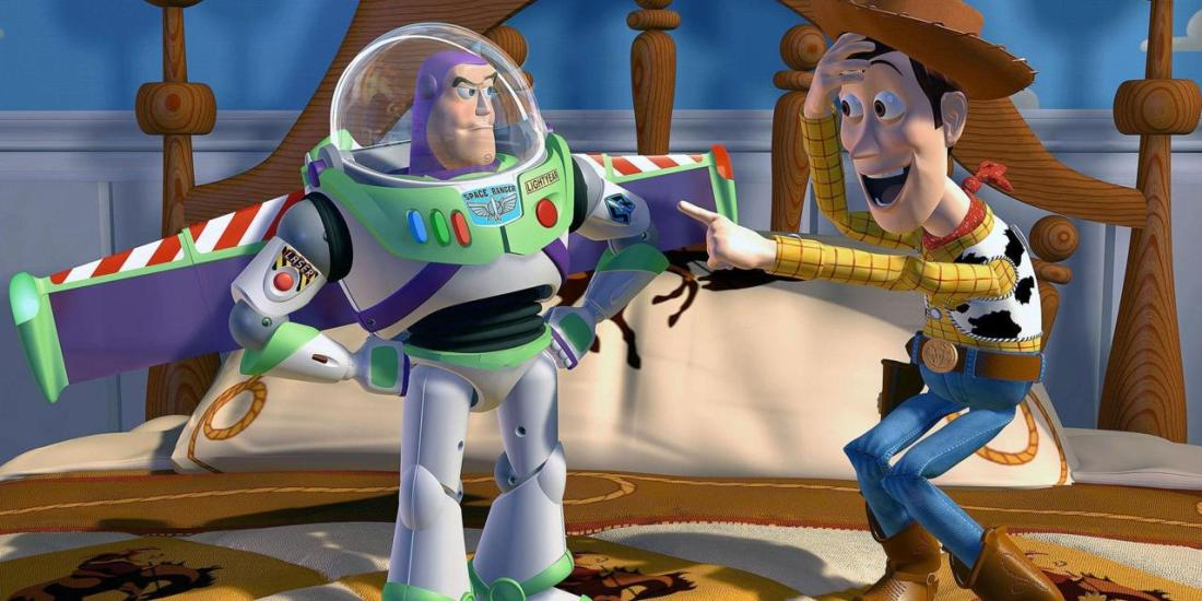 BUZZ LIGHTYEAR & WOODY TOY STORY (1995)
