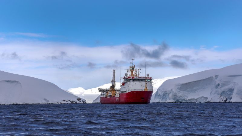 HMS Protector in Antartica 161118 CREDIT MOD